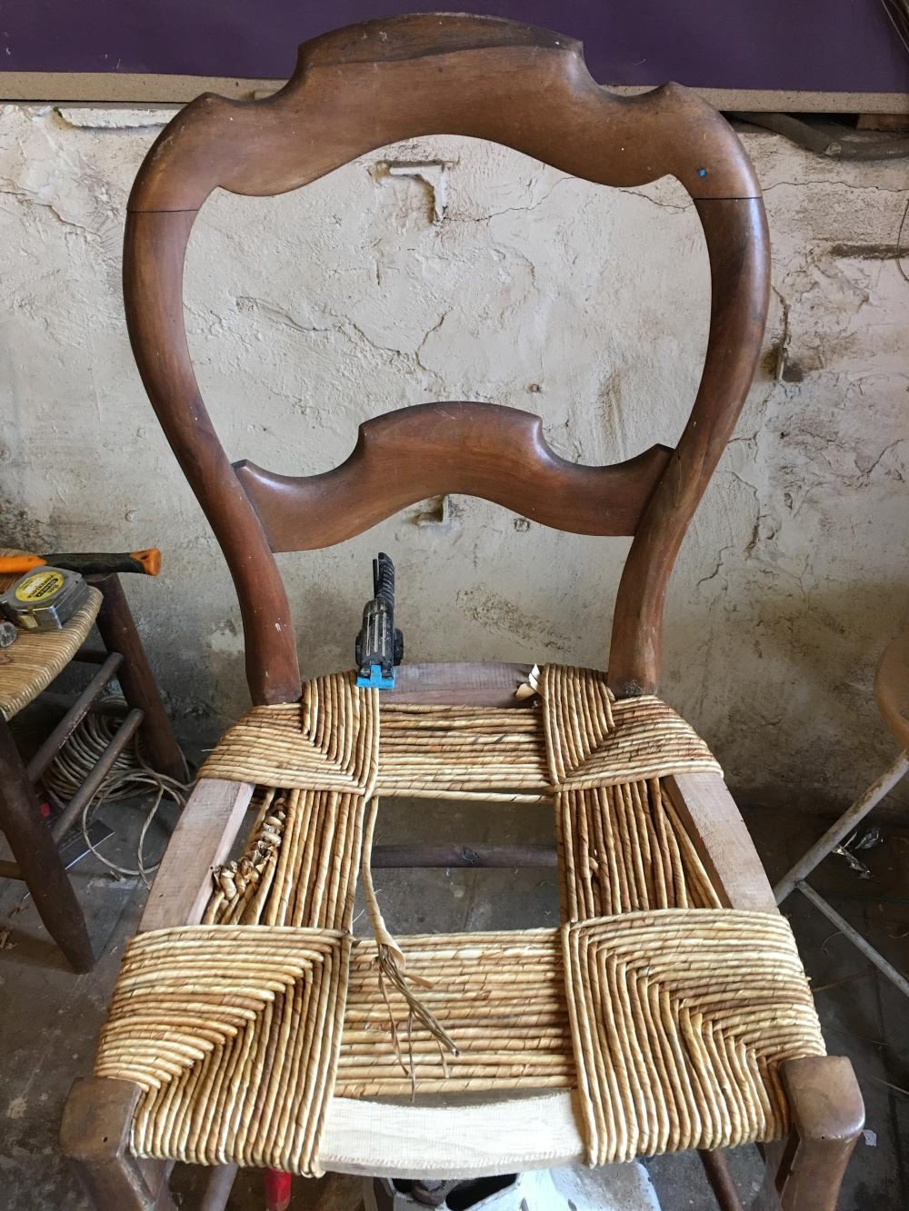 rempaillage de chaise nimes paillage de chaise Nimes Gard(30)